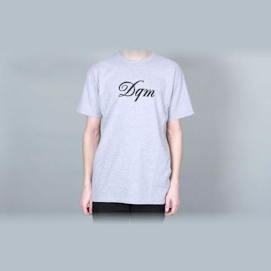 DQM Mainstay Graphic T-Shirt Heather Grey