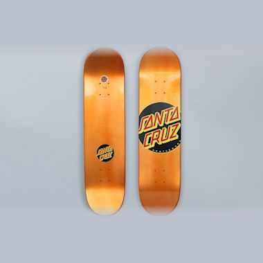 Santa Cruz 7.8 Classic Dot Skateboard Deck Orange