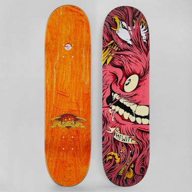 Anti Hero 8.38 Hewitt Grimple Stix Collab Skateboard Deck