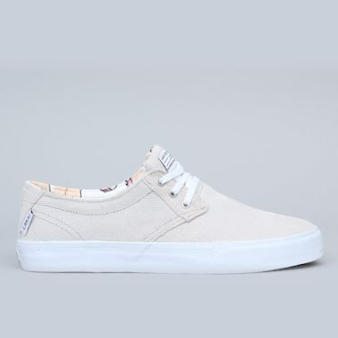 Lakai Daly Shoes White / White