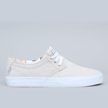 Lakai Daly Shoes White / White