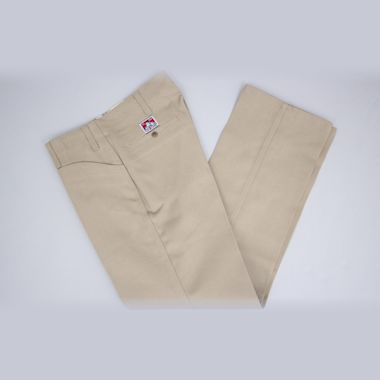 Second view of Ben Davis Trim Fit Pants Khaki