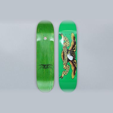 Anti Hero Classic Eagle M Green Team 7.81 Skateboard Deck
