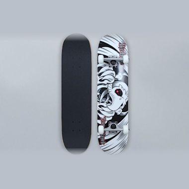 Birdhouse 7.38 Stage 1 Falcon 6 Mini Complete Skateboard Black / White