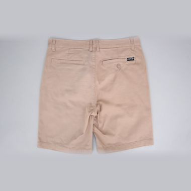 Second view of HUF Fulton Classic Shorts Khaki