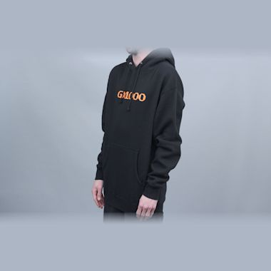 Second view of GX1000 OG Logo Hood Black