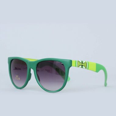 Second view of Independent Dons Sunglasses Dark Green