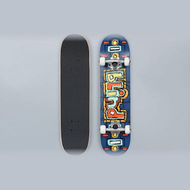 Blind 7.25 Design OG Youth Complete Skateboard Navy