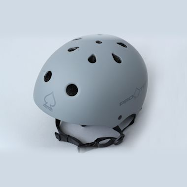 Second view of Pro-Tec Classic Certified Helmet Matte Grey
