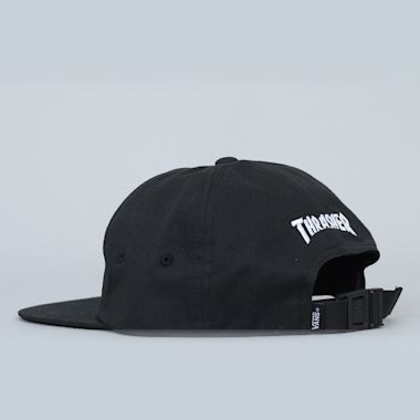 Second view of Vans X Thrasher Cap Black
