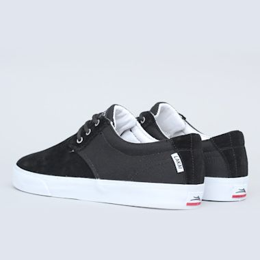 Second view of Lakai Daly Shoes Black / White
