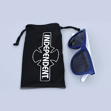 Second view of Independent Industry Sunglasses Royal / White