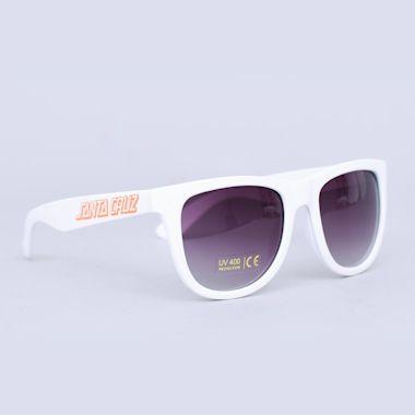 Santa Cruz Classic Strip Sunglasses White