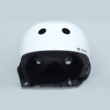 Capix Basher Helmet White Gloss