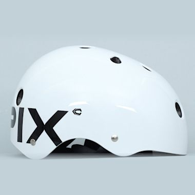 Second view of Capix Basher Helmet White Gloss