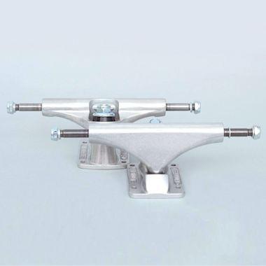 Bullet 140mm Team Skateboard Trucks Silver (Pair)