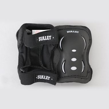 Second view of Bullet Blast Triple Youth Padset Black / White
