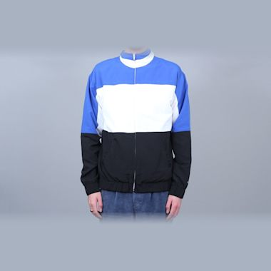 Grand Collection Nylon Jacket White / Blue