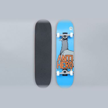 Anti Hero 7.38 Pigeon Hero Mini Complete Skateboard Blue