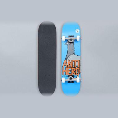 Anti Hero 7.38 Pigeon Hero Mini Complete Skateboard Blue