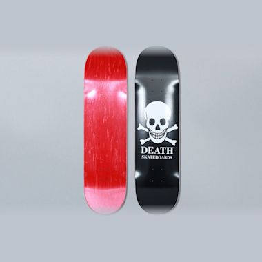 Death Skateboards 8 OG Skull Black Skateboard Deck