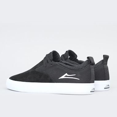 Second view of Lakai Riley 2 Shoes Black Suede