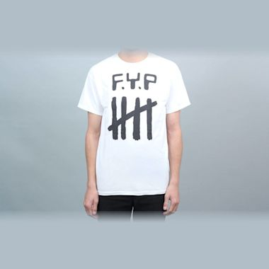 Dear Skating F.Y.P Todd Congelliere T-Shirt White (With F.Y.P Cassette)