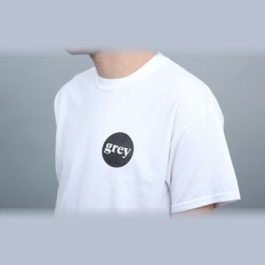 Second view of Grey T-Shirt White