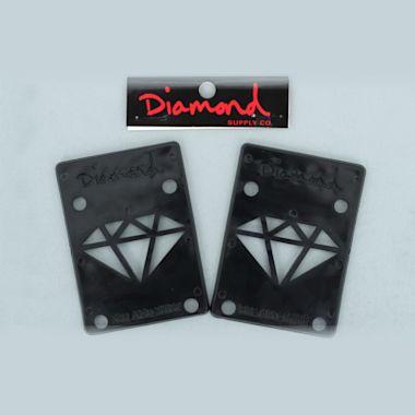 Diamond Riser Pads Black