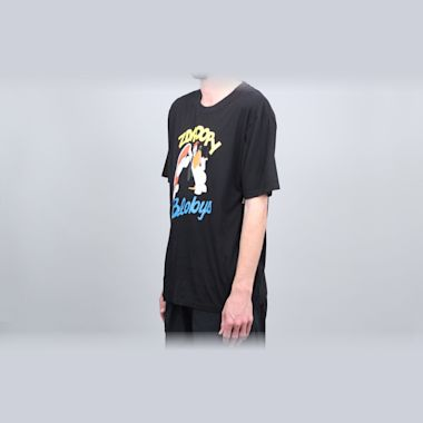 Second view of Blobys Zdroopy T-Shirt Black