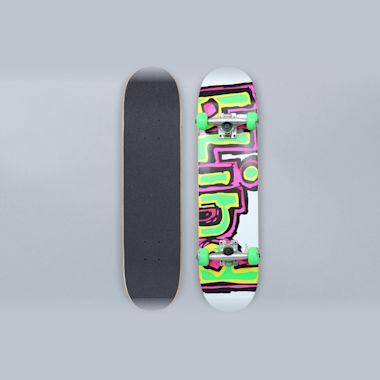 Blind 7 Matte OG Logo Youth Complete Skateboard White / Green