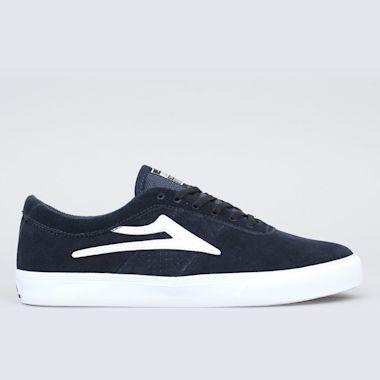 Lakai Sheffield Shoes Navy Suede