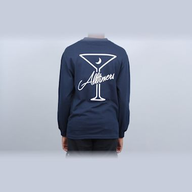 Alltimers Late Longsleeve T-Shirt Navy