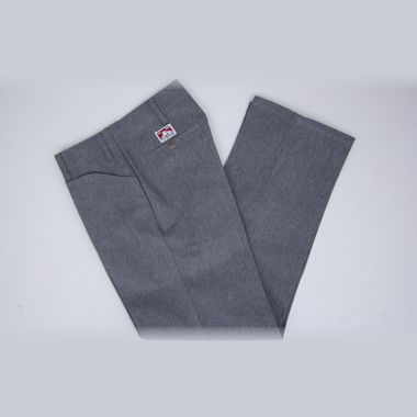 Second view of Ben Davis Trim Fit Pants Charcoal Heather