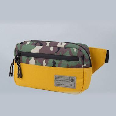 Hex Waistpack Bag Aspect Gold / Camo