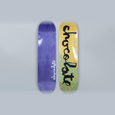 Chocolate 7.875 Stevie Perez Original Chunk Skateboard Deck