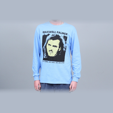 917 Maxwell Palmer Longsleeve T-Shirt Blue