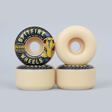 Spitfire 51mm 99DU Formula Four Radial Slims Wheels Natural