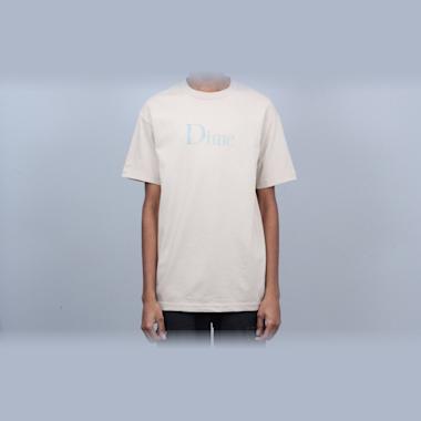 Dime Classic Logo T-Shirt Sand