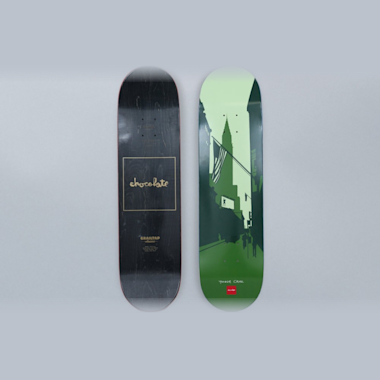 Chocolate 8.125 Yonnie Cruz Crailtap Classic The City Skateboard Deck
