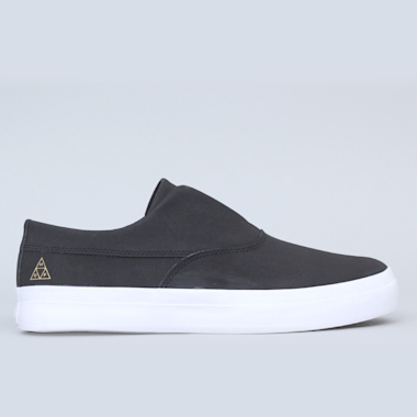 HUF Dylan Slip-On Shoes Black / Black