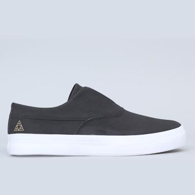 HUF Dylan Slip-On Shoes Black / Black