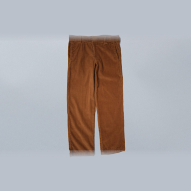 Dickies Slim 873 Cord Work Pant Brown Duck