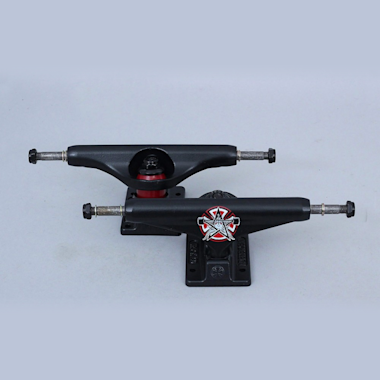 Independent X Thrasher 144 Stage 11 Pentagram Standard Trucks Matte Black (Pair)