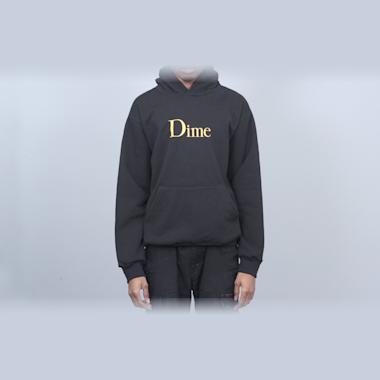 Dime Classic Logo Hood Black