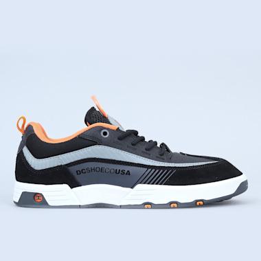 DC Legacy 98 Slim Shoes Black / Orange / Grey