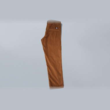 Second view of Dickies Slim 873 Cord Work Pant Brown Duck