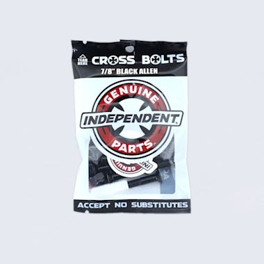 Independent 7/8 Allen Bolts Black
