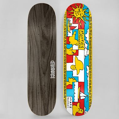Krooked 8.38 Gonz Sails Skateboard Deck