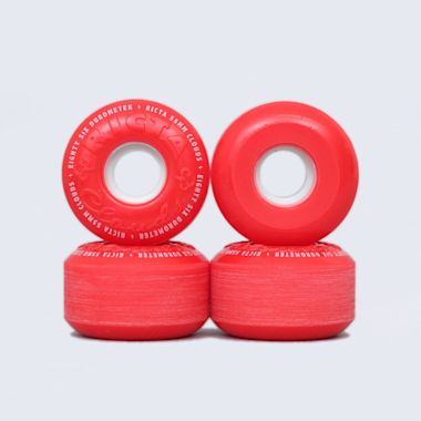 Ricta 55mm 86A Clouds Wheels Red / White